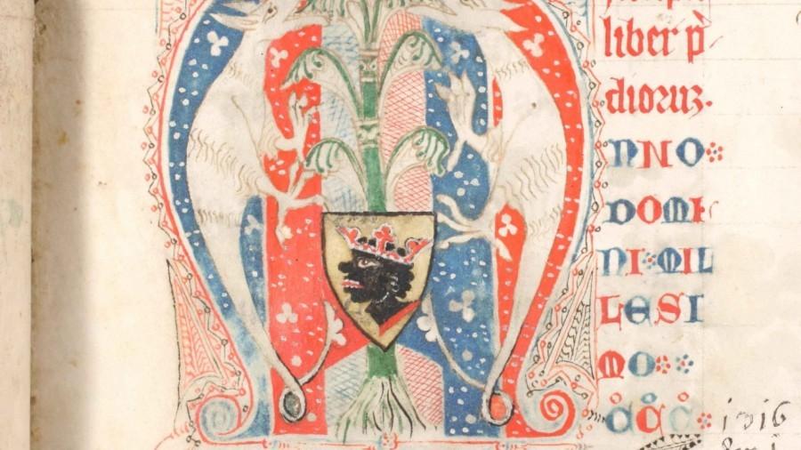 Älteste Darstellung des Mohrenwappen 1316.jpg