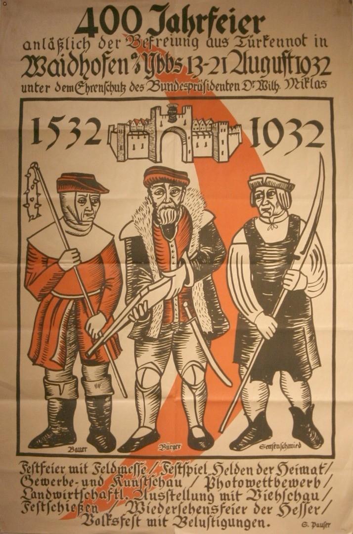 Abb 1 Plakat zur Feier 1932 von Sergius Pauser.jpg